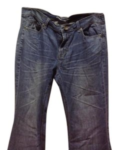 The Limited Denim Soft And Eased With A Slim Waist Fit. !like New Flare Pants Medium rinse
