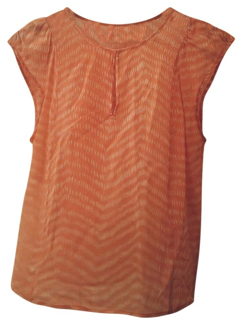 067b9042be703f Broadway   Broome Orange Madewell Blouse Size 4 (S) - Tradesy