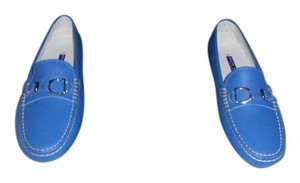 Ralph Lauren Collection Dasita Comfortable Blue Flats