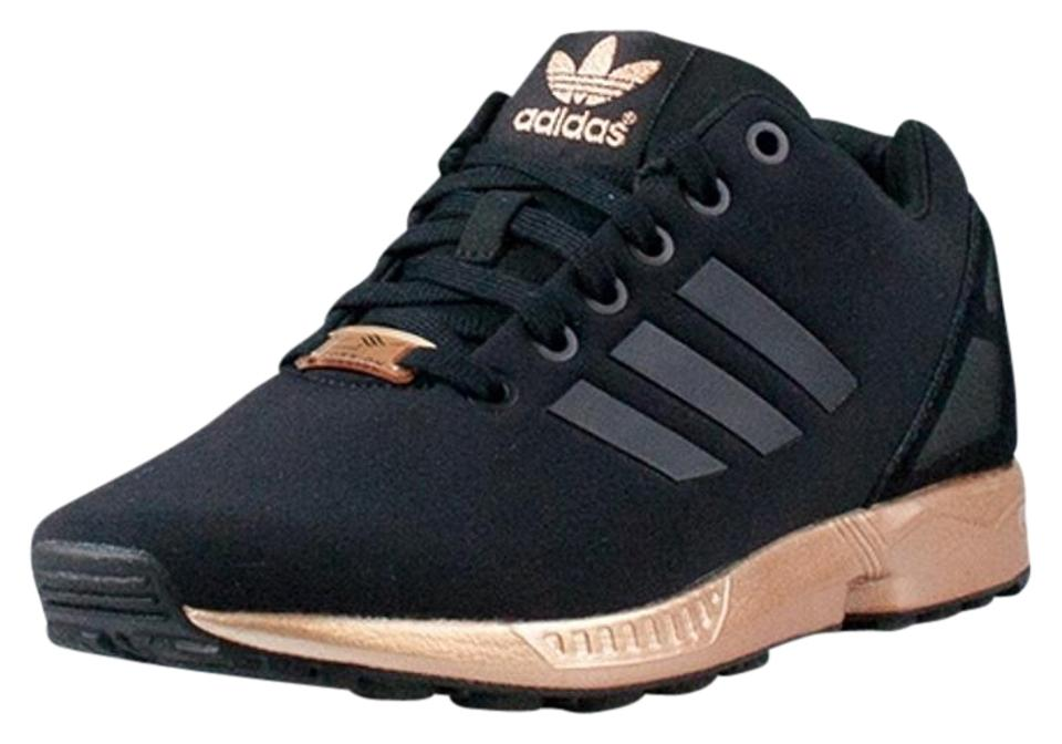 low priced 99239 72efb adidas Black Copper Zx Flux *suggested Fit 8 Or 8.5 Womens Sneakers Size US  7.5 Regular (M, B)