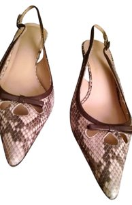 J.Crew Tan/Brown Pumps