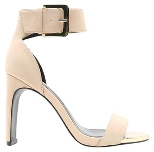Qupid Nude Sandals