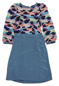 Marc by Marc Jacobs short dress Blue Multi Color Print Top on Tradesy
