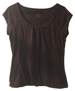 Merona T Shirt chocolate brown