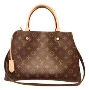 Louis Vuitton Montaigne Tote in Brown