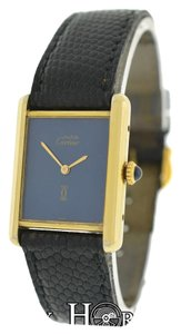 Cartier Cartier Must de Cartier Tank Vermeil Silver Gold Mechanical