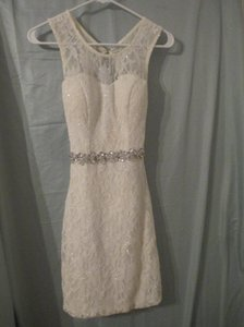 Jodi Kristopher Lace Bachelorette Sequin Dress