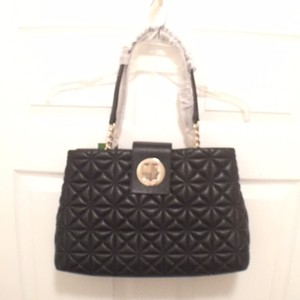 Kate Spade Leather Satchel Quilted Shoulder Bag