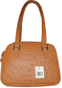 Liz Claiborne Leather Tote in Camel