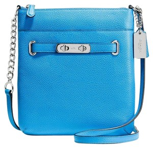 Coach 36502 Metallic Swagger Cross Body Bag