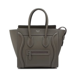 Céline Micro Tote in Souris taupe grey NWT Celine
