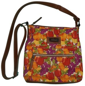 Relic Like New Fruit Fall Colors Fossil Cross Body Bag