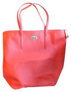 Lacoste Tote in Orange