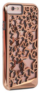 Case-Mate iPhone 6/6s Tough Layers - Stars - Rose Gold/Grey