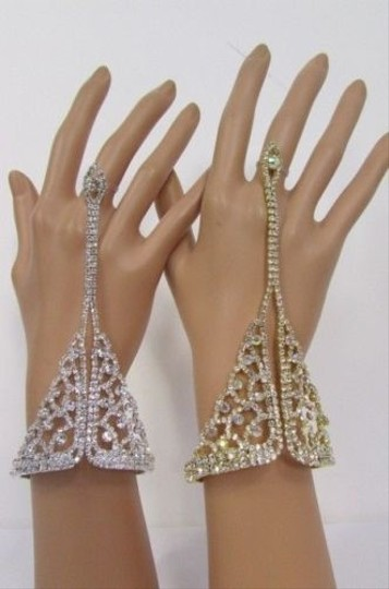 Other Women Classic Bracelet Hand Chain Fashion Ring Gold Silver