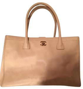 Chanel Cerf Summer Classic Tote in Beige