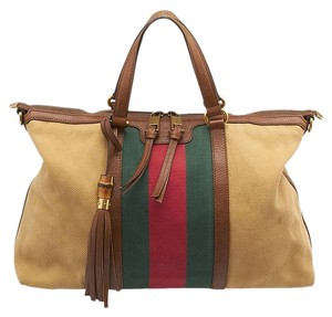 Gucci Gg Heritage Shoulder Tote in Multi-Color