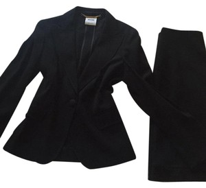 Boutique Moschino Moschino Couture Black Skirt Suit