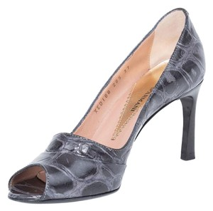 Emporio Armani Gray Pumps