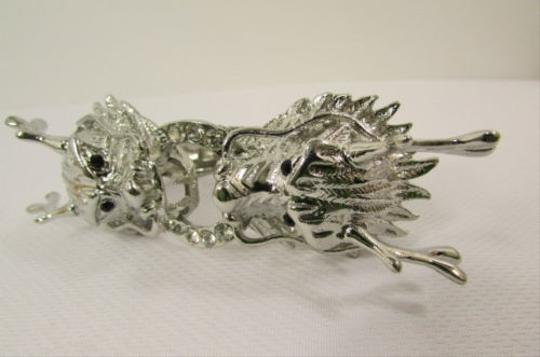 Other Women Chines Dragon Cuff Bracelet Fashion Gold OR Silver