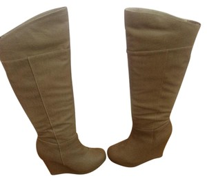 Charlotte Russe Wedge Wedge Brown Boots