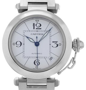 Cartier Cartier Pasha W31074M7 Stainless Steel Automatic Ladies Watch (14077)