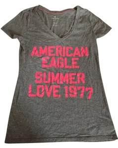 American Eagle Outfitters Ae T Shirt Grey
