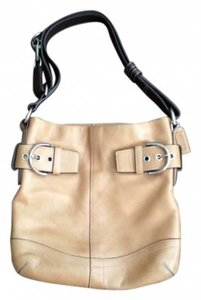 Coach Leather Shoulder Bag