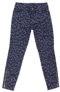 Louis Vuitton Leopard Gold Hardware Skinny Jeans