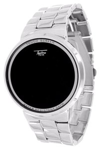 Touch Screen Watch White Techno Pave Mens Ladies