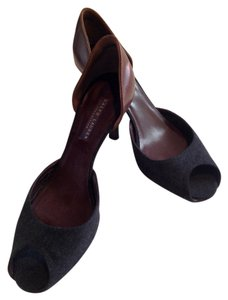 Ralph Lauren Grey and brown Pumps
