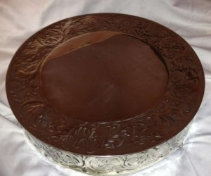 Michaels Silver Cake Base Other