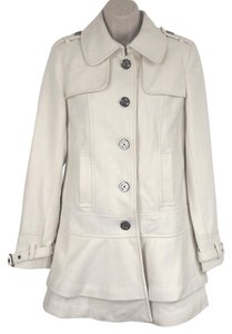 Victoria's Secret Coco_trade Short A Line Military Trench Coat
