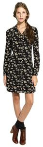 Madewell short dress Black Alexa Chung on Tradesy