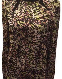 Rachel Zoe Silk Top Multi print