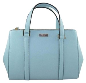 Kate Spade Newbury Lane Small Loden Handbag Satchel in Grace Blue