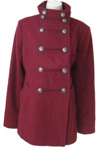 Victoria's Secret Short Military Wool Pea Coat