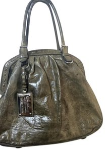 Dolce&Gabbana Distressed Weathered Leather Tote in Gray