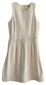 Madewell short dress creme afternoon Afternooon Cream Tank Sleeveless on Tradesy