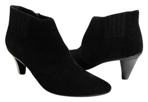 Kenneth Cole Reaction Size 9.50 M Suede Leather Black Boots