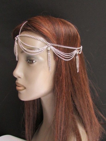 Other Women Chain Silver Jewelry Grecian Frings Hair Accessories Band