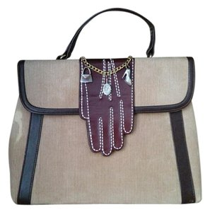 Lulu Guinness Satchel in Brown