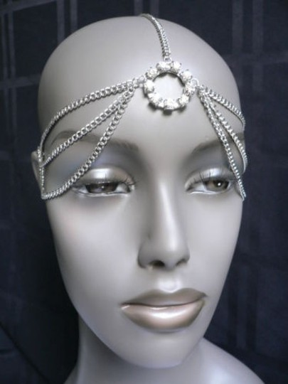 Other B. Women Head Metal Chain Fashion Silver Jewelry Grecian Circlet