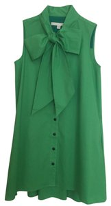 Anthropologie short dress Green Sleeveless Timeless on Tradesy