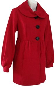 Victoria's Secret Wool Peplum 100% Wool Winter Pea Coat