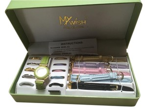 My Wish Collezioni Interchangeable Watch Set in Original box