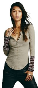 Free People Henley Tunic