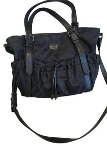 Burberry Novacheck Black Diaper Bag