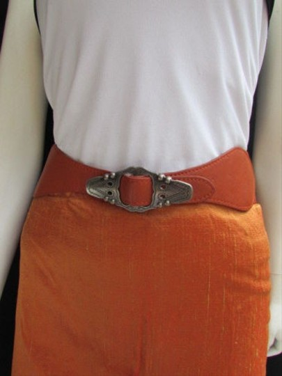 Preload https://img-static.tradesy.com/item/1931470/women-waist-hip-orange-elastic-fashion-belt-silver-moroccan-buckle-27-34-0-0-540-540.jpg