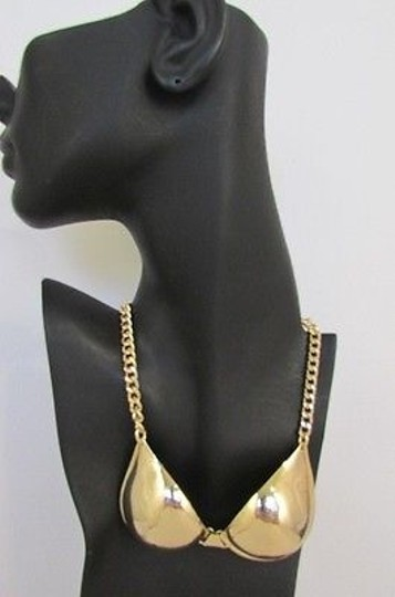 Preload https://img-static.tradesy.com/item/1931493/women-mini-metal-bra-pendant-13-long-chains-fashion-necklace-gold-silver-0-0-540-540.jpg